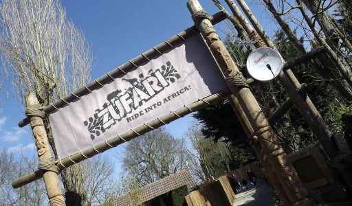 Zufari • Chessington World of Adventures