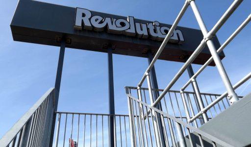 Revolution • Arrow Launched Loop • Blackpool Pleasure Beach
