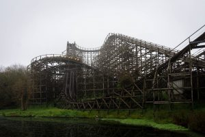 Megafobia • CCI Wooden Coaster • Oakwood Theme Park