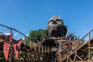 Wicker Man • GCI Wooden Coaster • Alton Towers