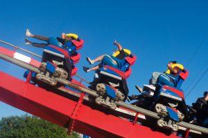 Superman Krypton Coaster • B&M Floorless Coaster • Six Flags Fiesta Texas