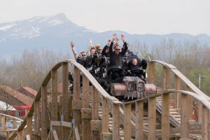 Timber! • Gravity Group Wooden Coaster • Walibi Rhône-Alpes