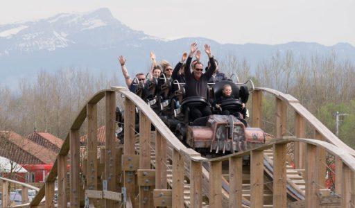 Timber! • Gravity Group Wooden Coaster • Walibi Rhône-Alpes