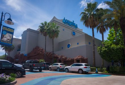Das Downtown Aquarium Houston