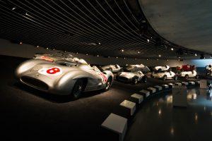 Mercedes Benz Museum • Motor Museum in Stuttgart • Baden-Wuerttemberg