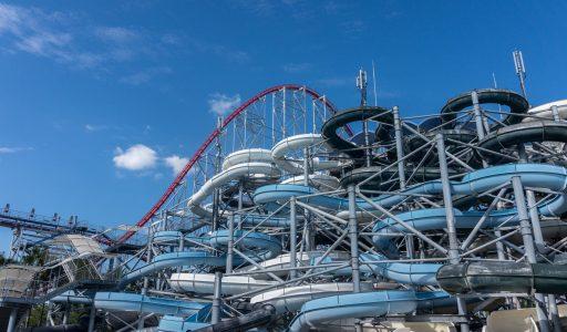 Tornado Slider • WhiteWater West Tube Slides and Bodyslides Tower • Joyful Waterpark